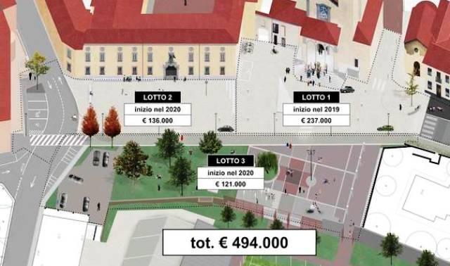 Nuova piazza albizzate costi