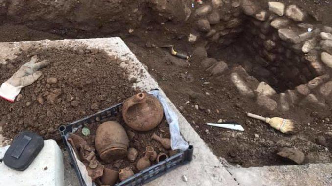magnago tomba romana scoperta