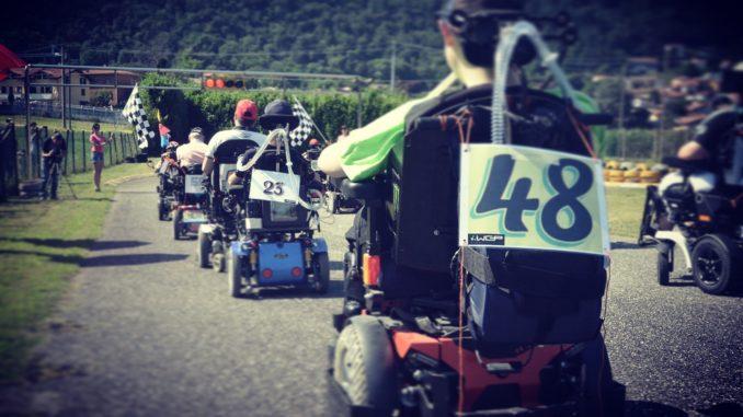 wheelchair corsa carrozzina cavaria
