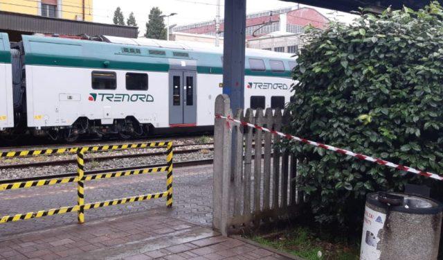 Stazione legnano investita treno