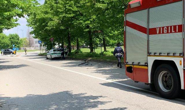 busto ciclista morto camion