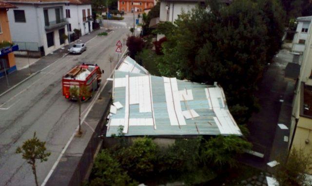 cittiglio vento tetto ospedale