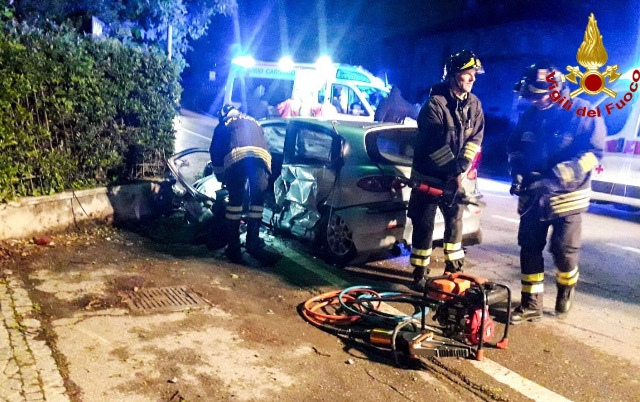morazzone incidente due feriti