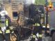 vergiate incendio cantiere varese