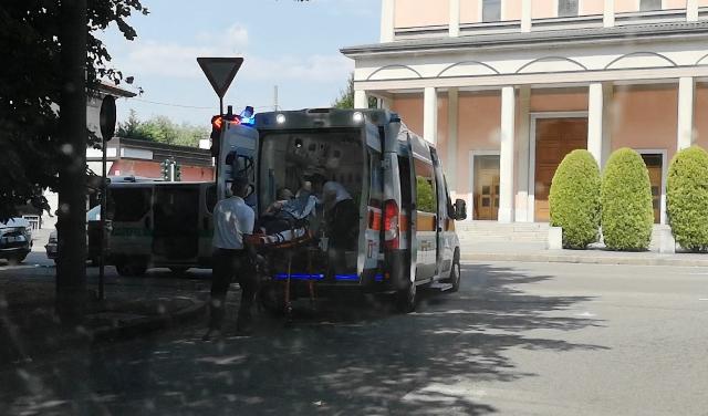 gallarate incidente varesina ambulanza