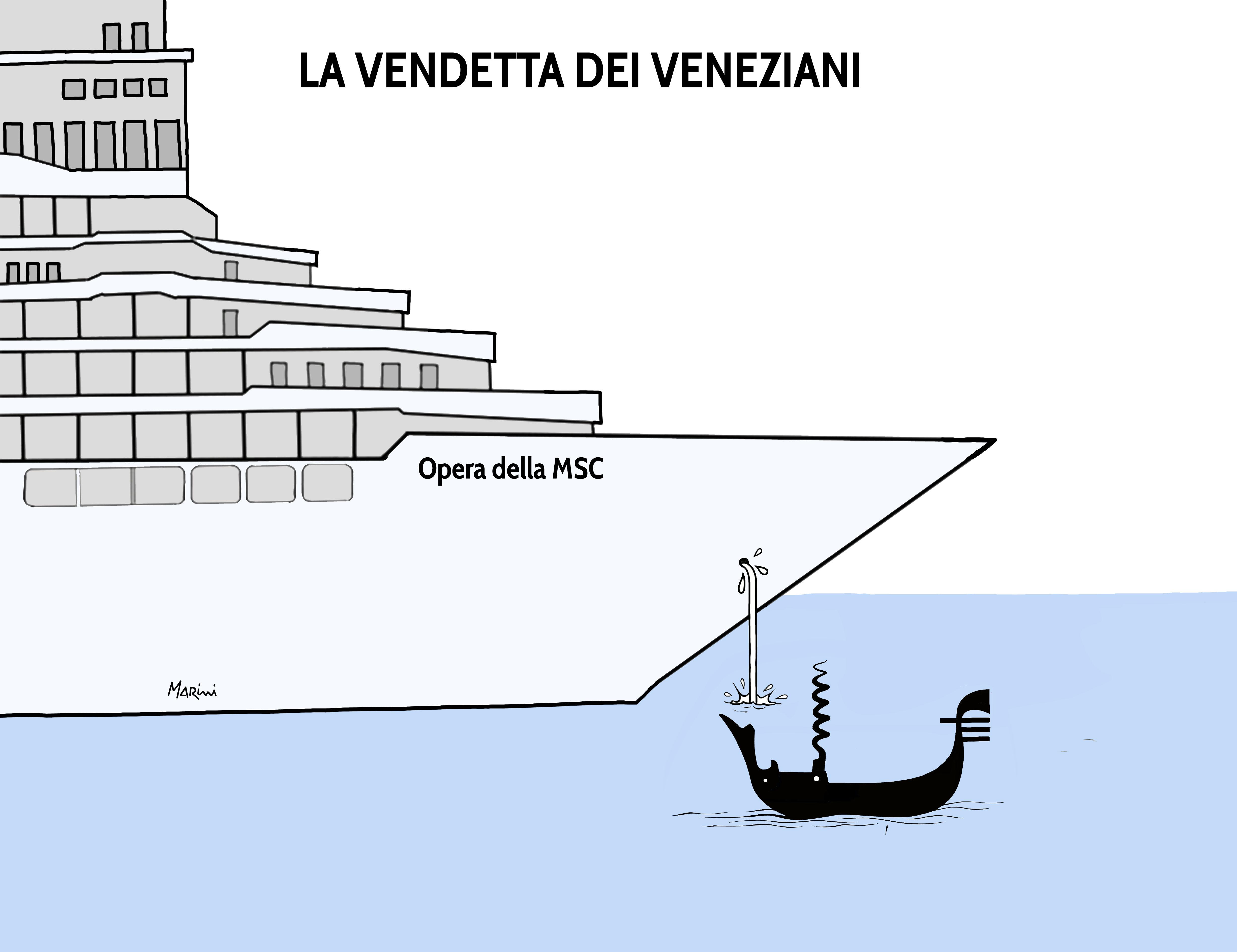 venezia crociera laguna marini
