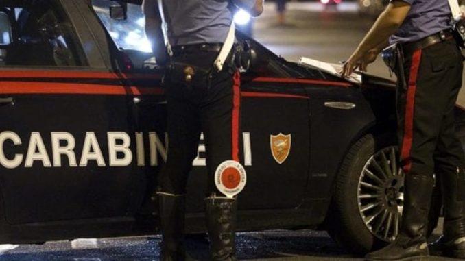 olgiate insulta carabinieri denunciato
