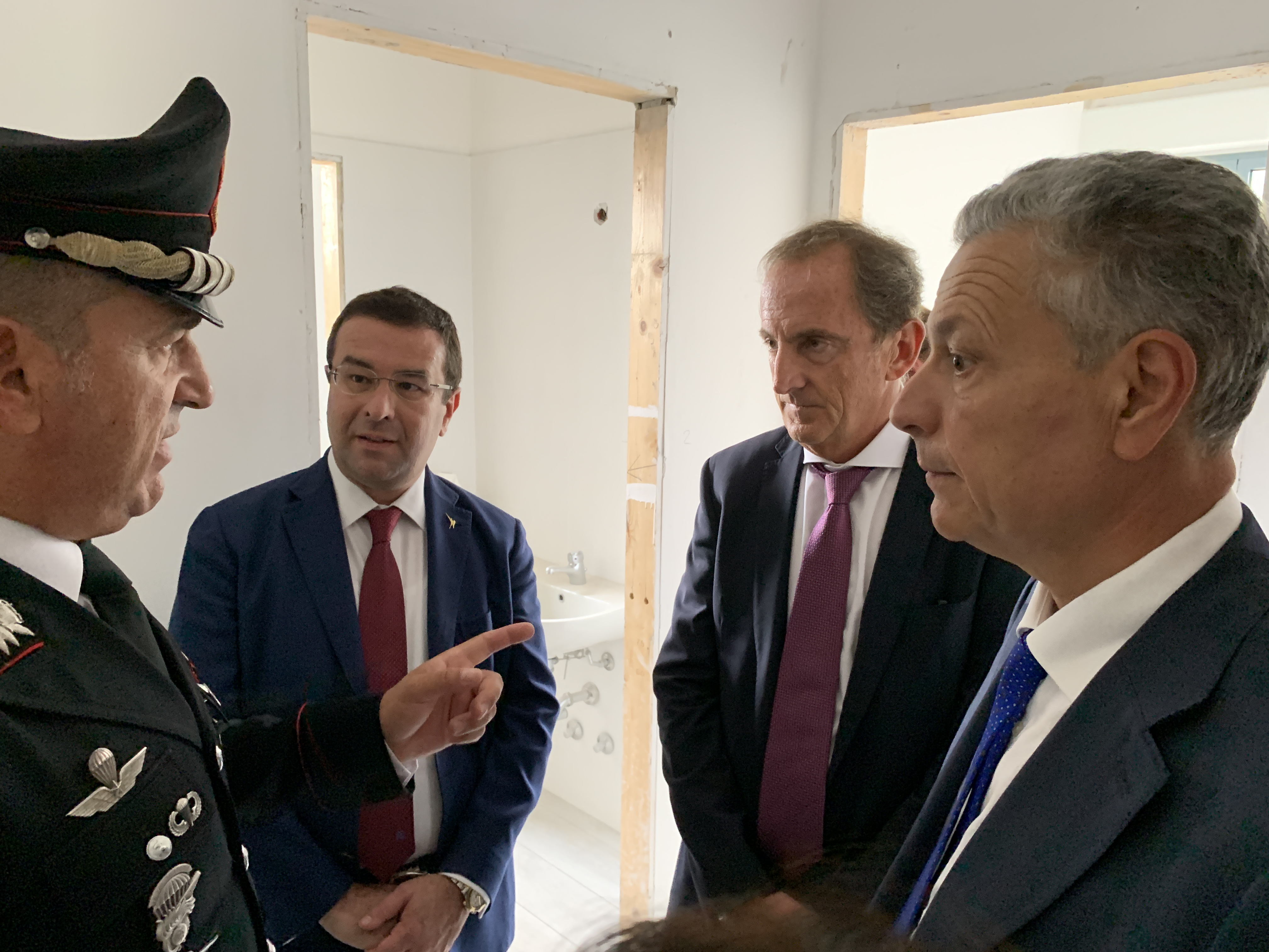 Busto nuova caserma carabinieri