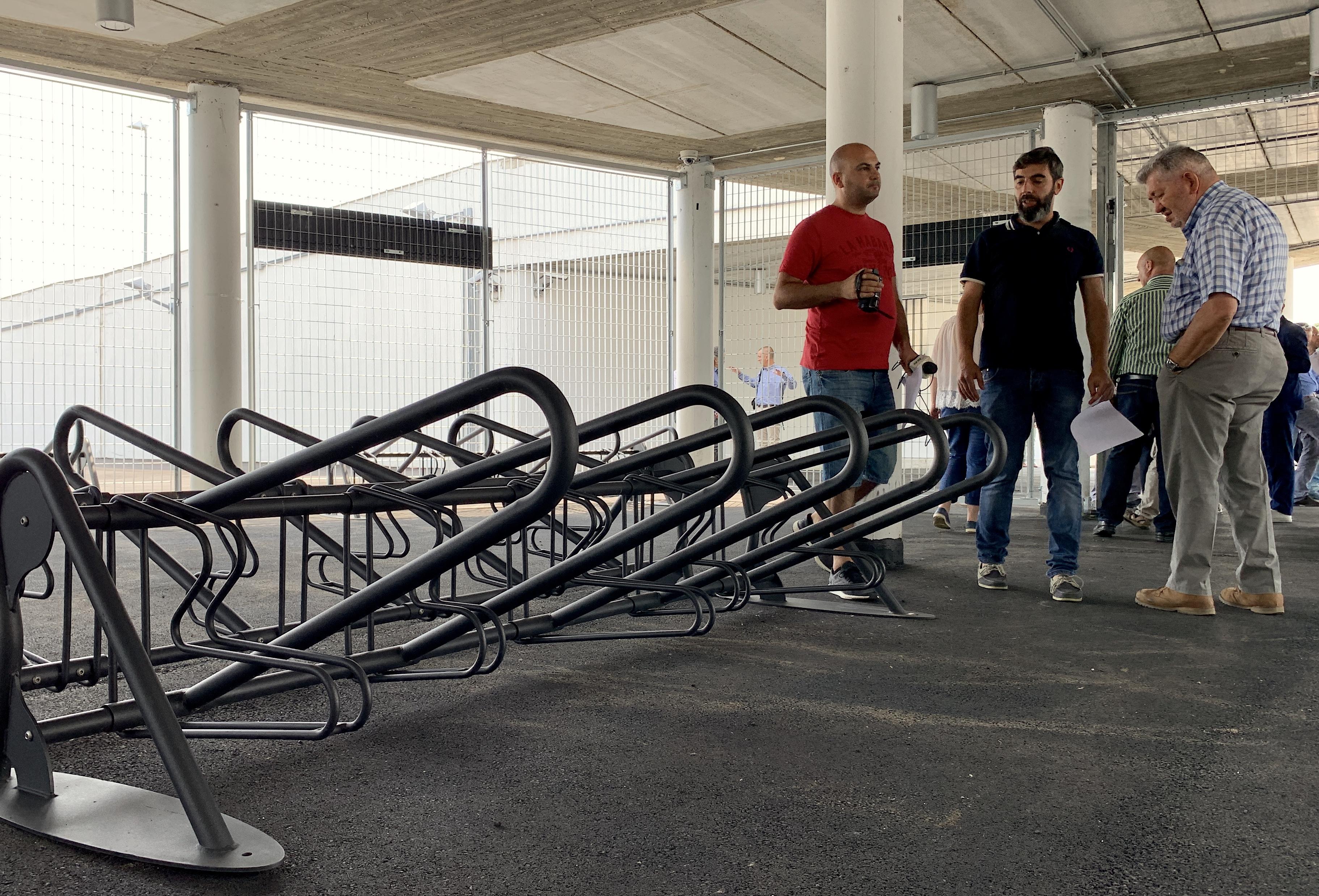 Castellanza stazione posteggio bici