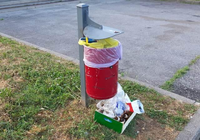 Abbandona rifiuti albizzate multa