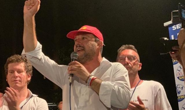 Salvini Golasecca governo avanti