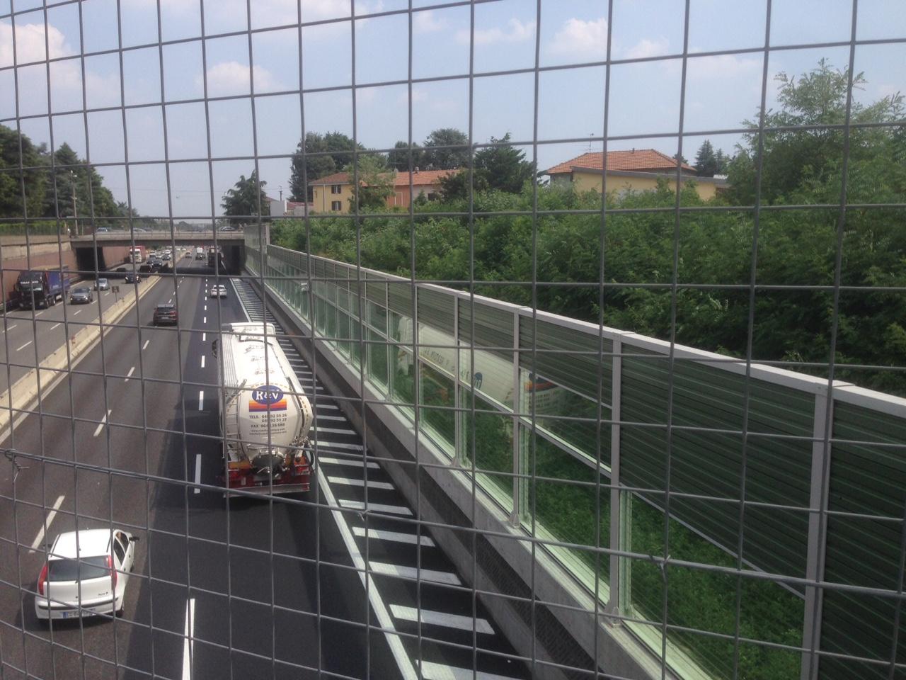 olgiate olona barriere autostrada