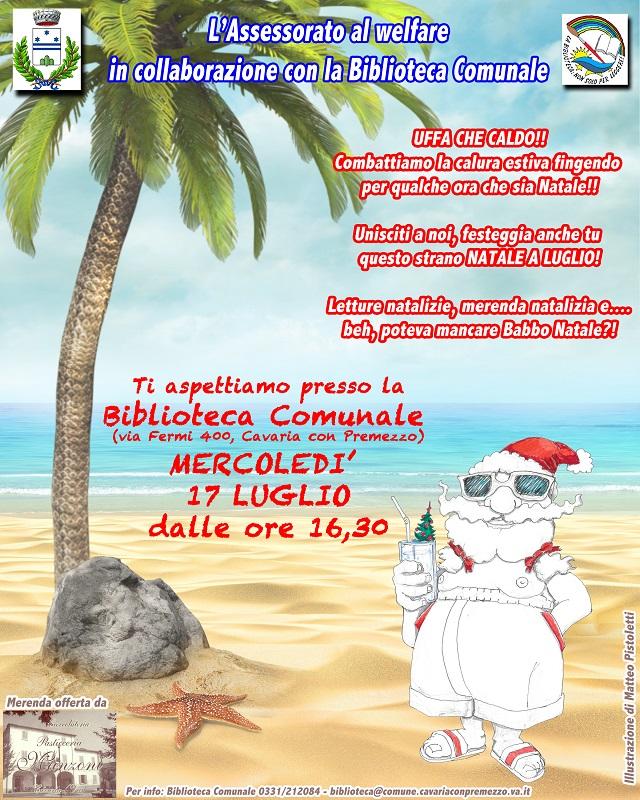 Sorpresa Per I Bimbi Nella Biblioteca Di Cavaria Arriva Babbo Natale Malpensa24