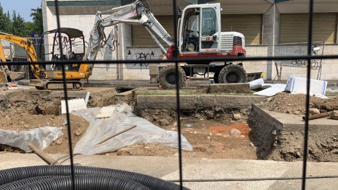 busto parona scavi piazzetta