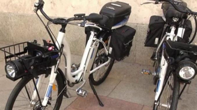 olgiate biciclette elettriche polizia