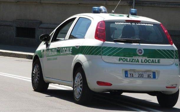legnano polizia falchi arresto