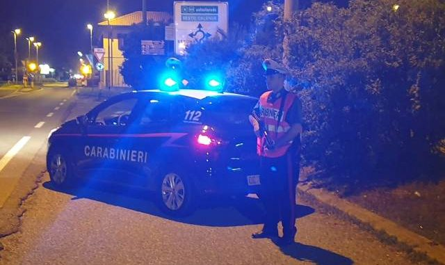 carabinieri vergiate movida