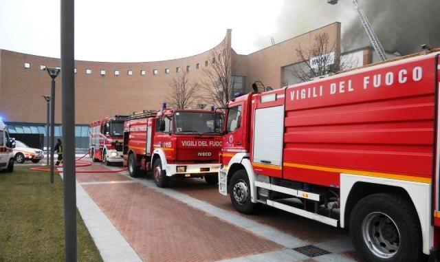 Vigili fuoco volontari Gallarate