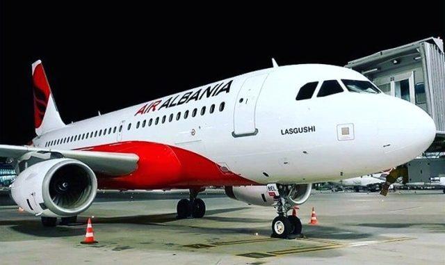 Air Albania Malpensa Tirana