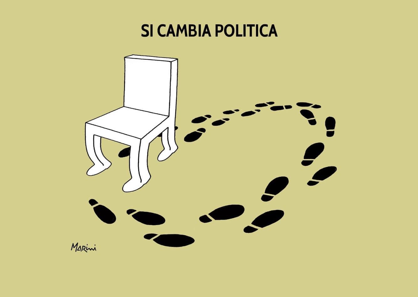 marini politica crisi governo