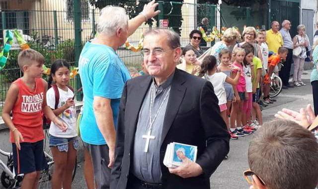 Marnate oratorio arcivescovo Delpini