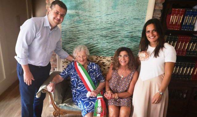 Gallarate nonna Livia centenaria