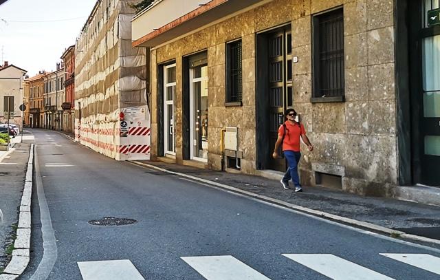 viabilità piazza Garibaldi Gallarate