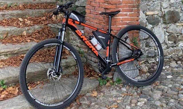 busto bici rubata