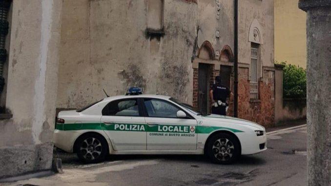 busto inquilini abusivi polizia locale
