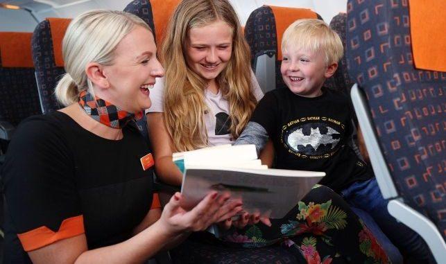 easyjet bambini libri aereo