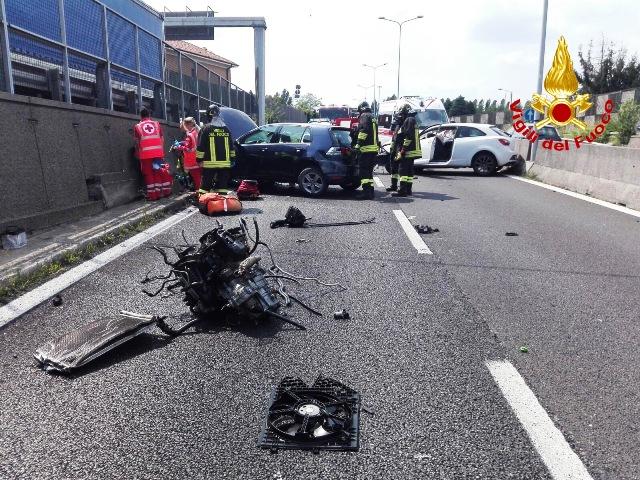 Incidente 336 superstrada bloccata