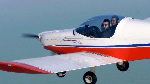 disabile pilota brevetto volo