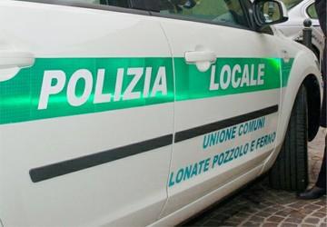 ferno lonate polizia locale