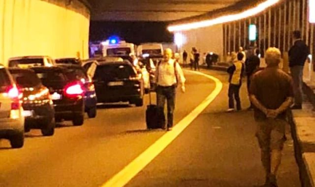 malpensa incidente 336 bloccata