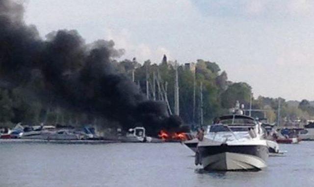 lisanza incendio cantiere nautico