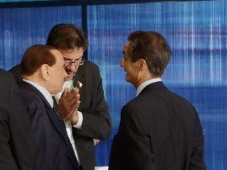 Berlusconi Giorgetti Fontana Leonardo