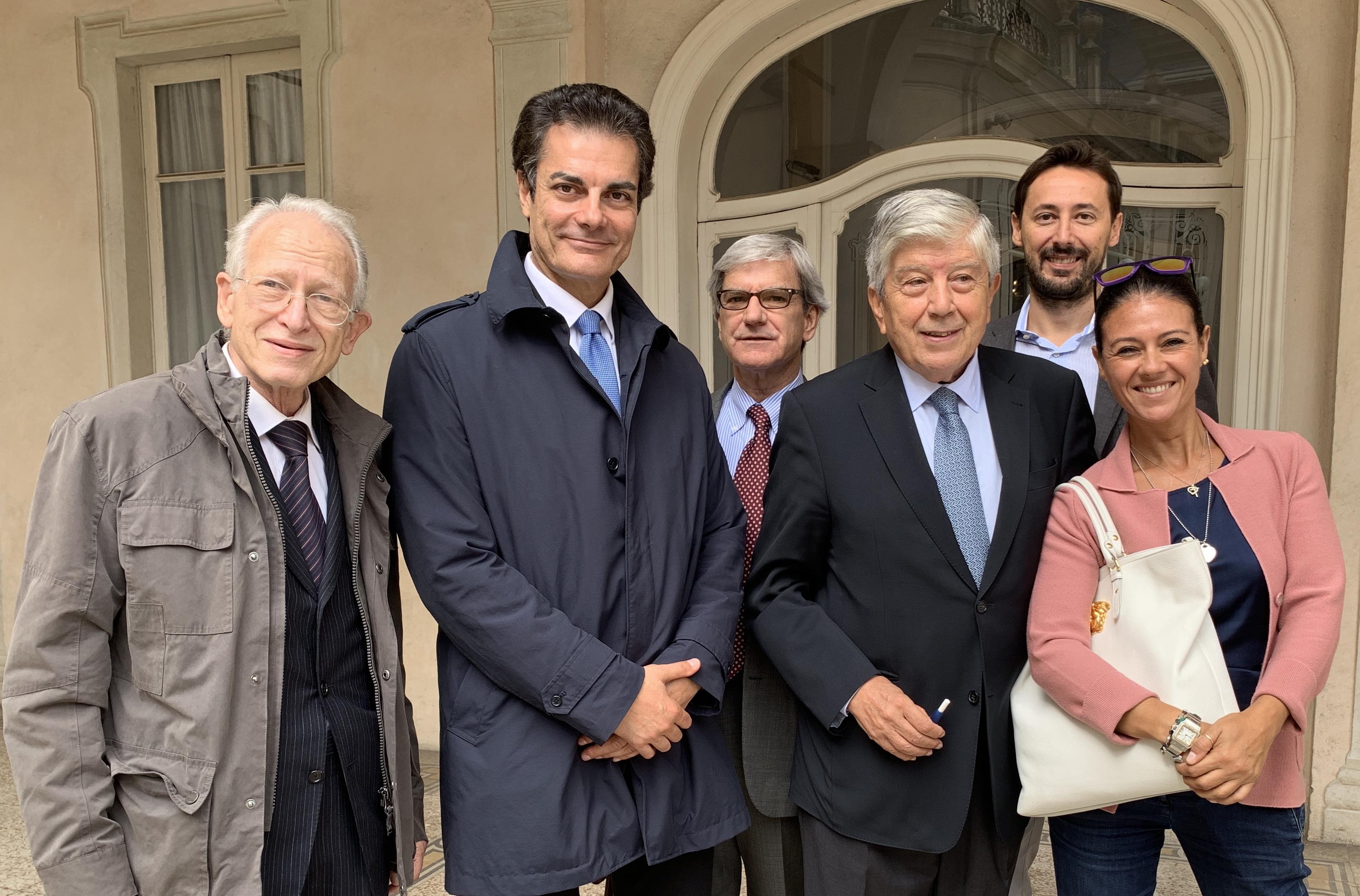 Forza Italia convention caliendo