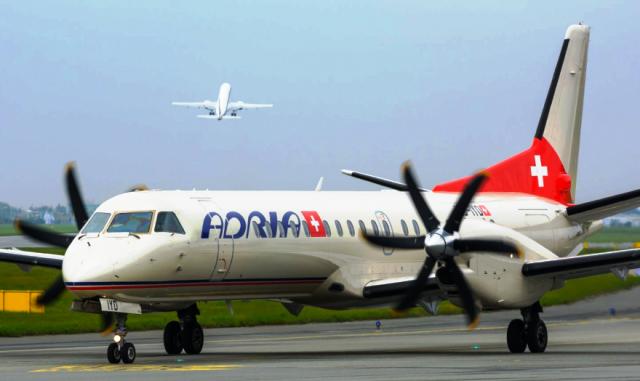 Adria Airways sospende voli