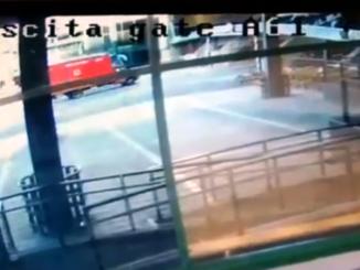 incidente malpensa t1 video