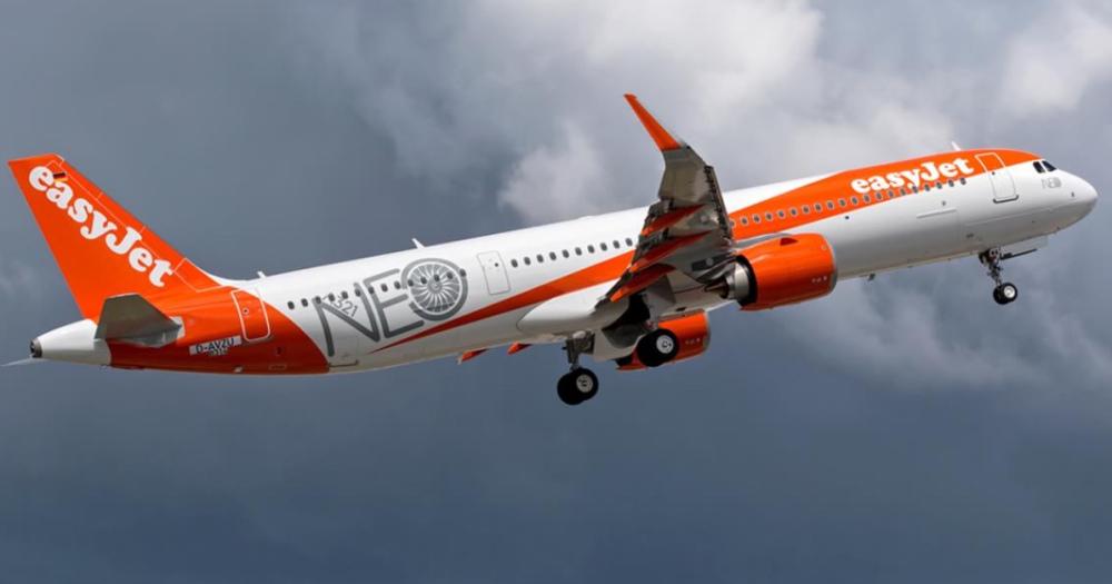 easyjet a321 neo rumore