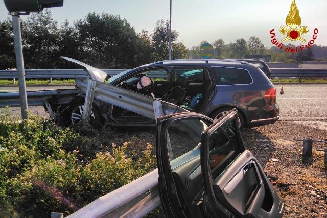 gallarate incidente autostrada a8