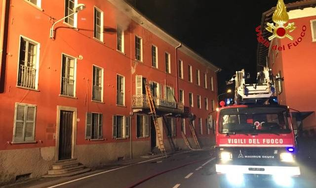 germignaga incendio setificio