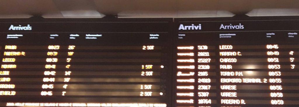 busto pendolari trenord ritardi