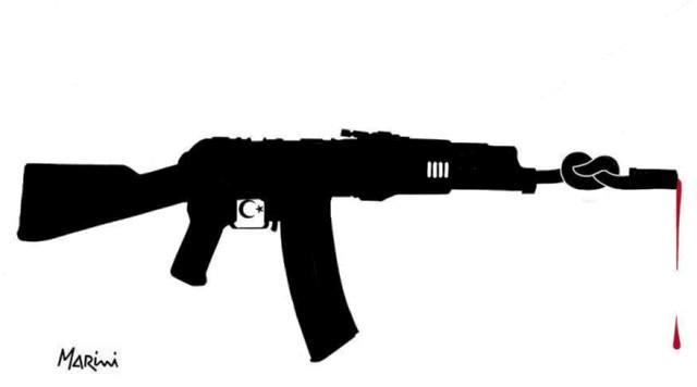 stop armi turchia marini