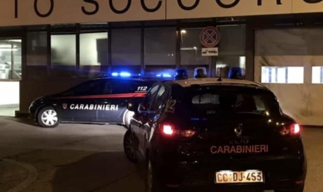 ospedale carabinieri denunce lite