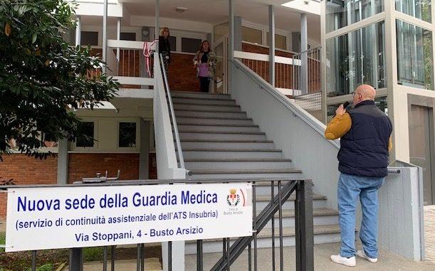 busto guardia medica inaugurazione