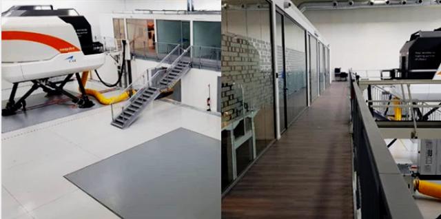 training centre easyJet Malpensa