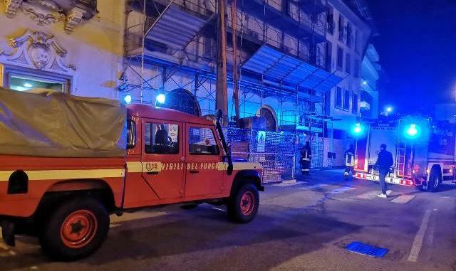 gallarate incendio piazza garibaldi