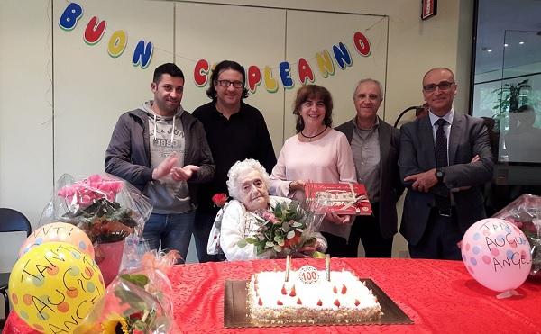 legnano centenaria auguri compleanno