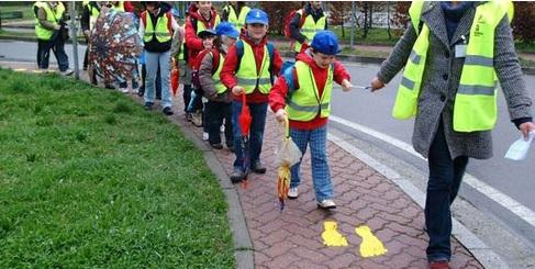 legnano piedibus scuola volontari